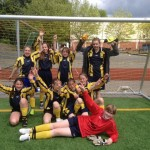 Unsere erfolgreiche Mädchenmannschaft