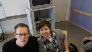 Herr Mester, Herr Hautau und Herr Sieling coachen die Schülerinnen in diesem Jahr
