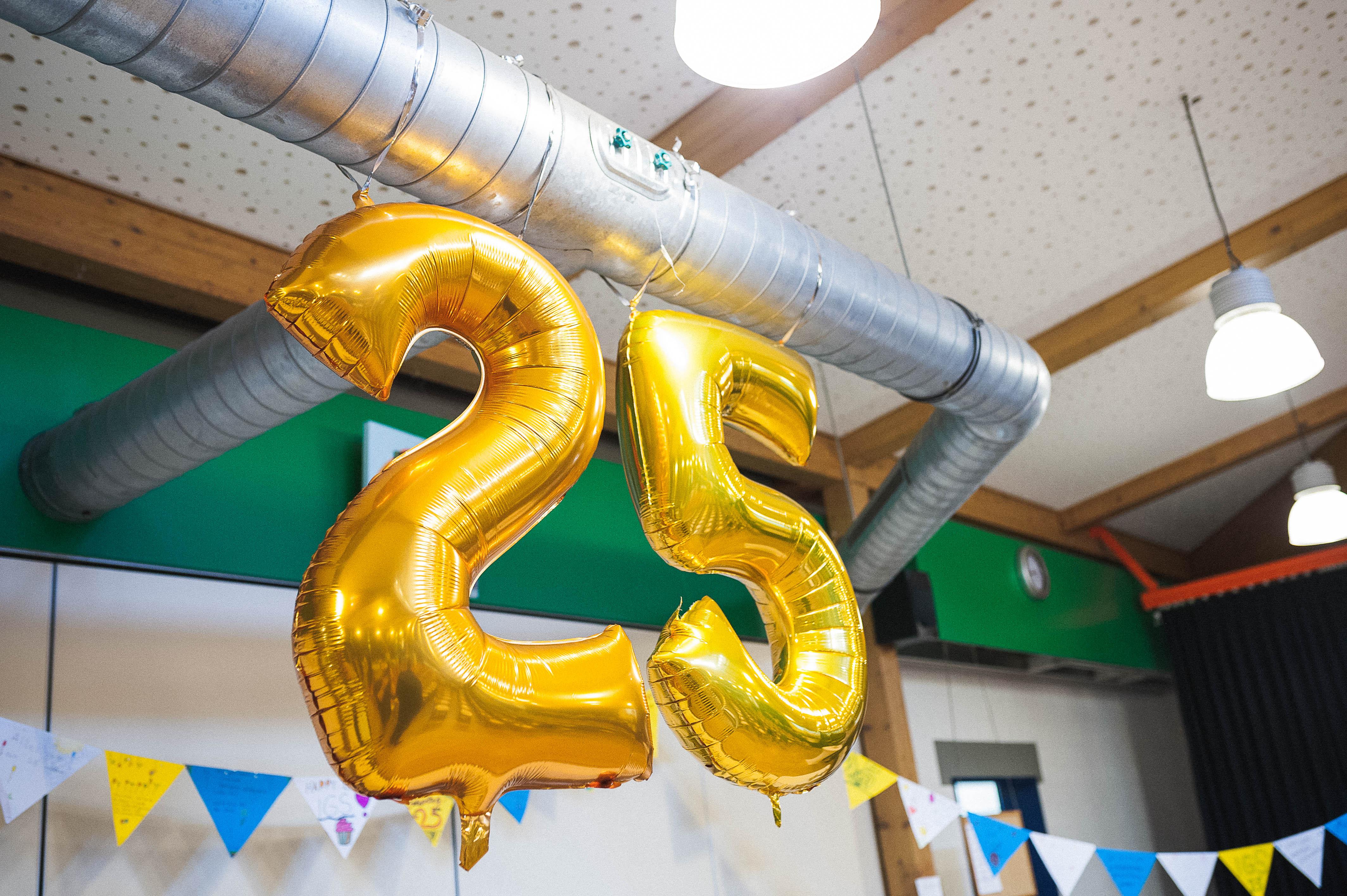 Unsere IGS wird 25
