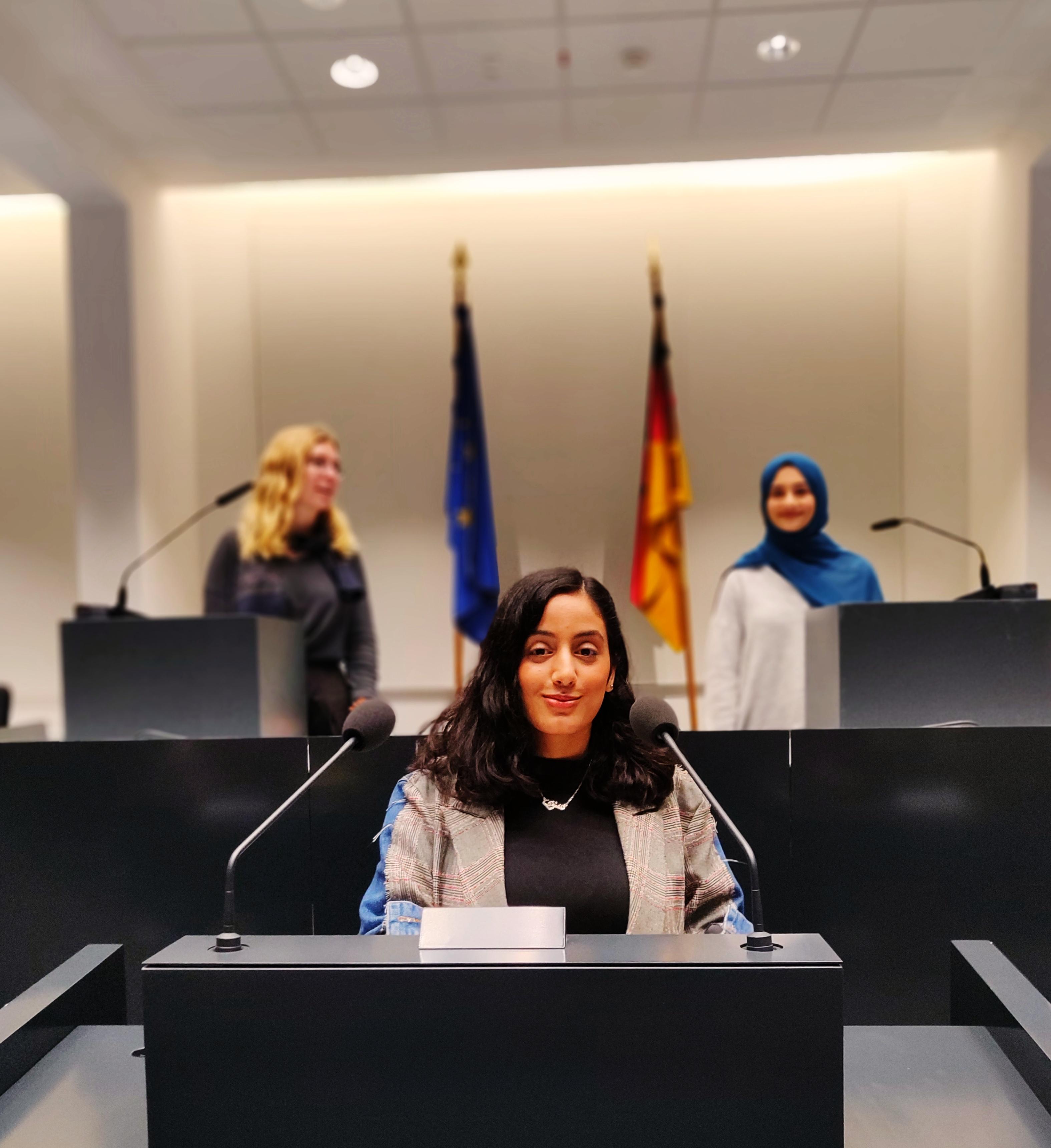 Zu Besuch im Landtag