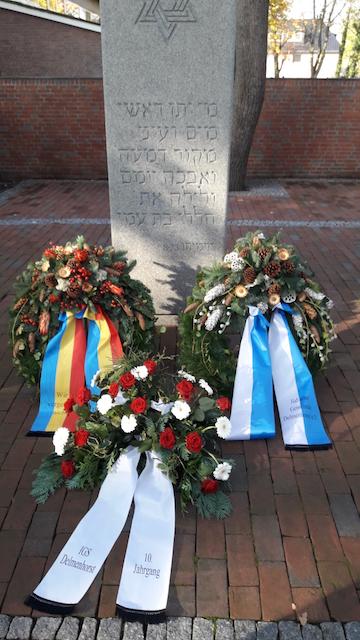 Gedenkfeier der jüdischen Gemeinde