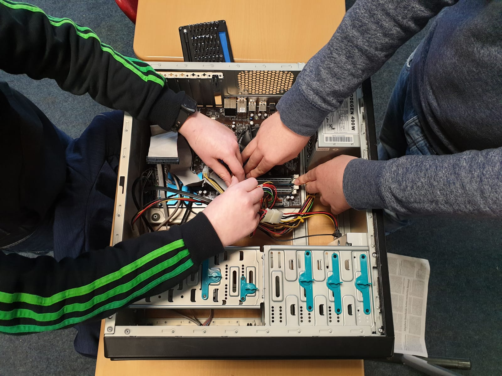 Die AG Computerwerkstatt